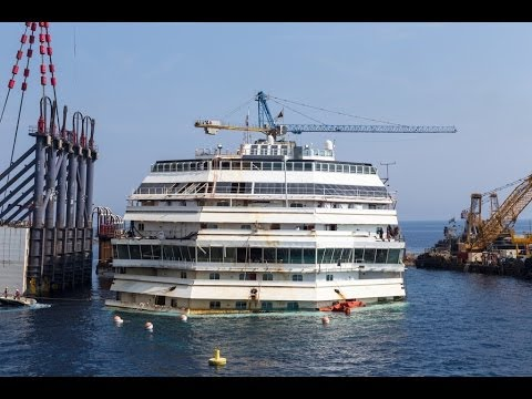 Wreck Tour of the Costa Concordia (14.06.2014) - Project Completion 90%