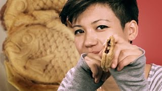 People Try Korean Street Food