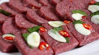 ✅ Chưa Bao Giờ  Làm Nem Chua Ngon Tại Nhà Lại Dễ Như Vậy | Hồn Việt Food