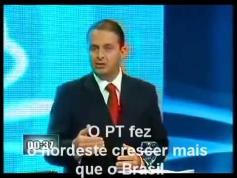 Eduardo Campos fala sobre Dilma
