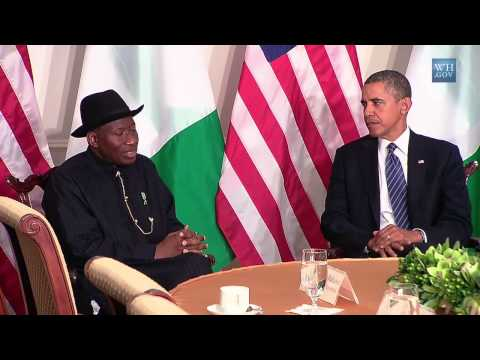 ▶ Nigerian Voices - President Obama's Bilateral Meeting with President Jonathan of Nigeria
