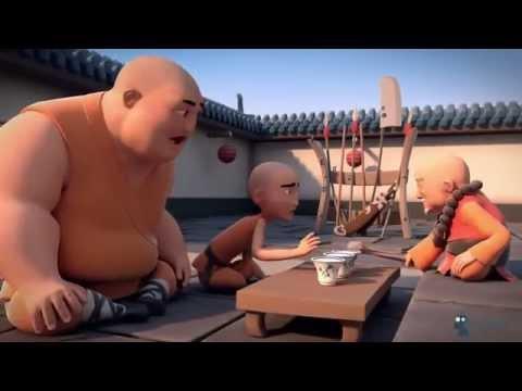 Phim hoạt hình 3D võ thuật Thiếu Lâm Tự  Full HD