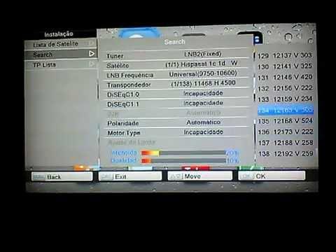 Configuração Azbox Bravissimo Twin Hd Atualização Outubro 30/10/2014
