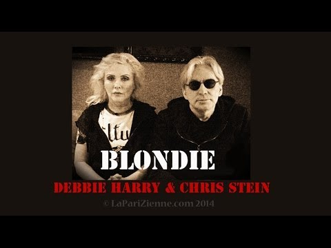 Debbie Harry & Chris Stein - Blondie interview Paris 2014 - LaPariZienne.com