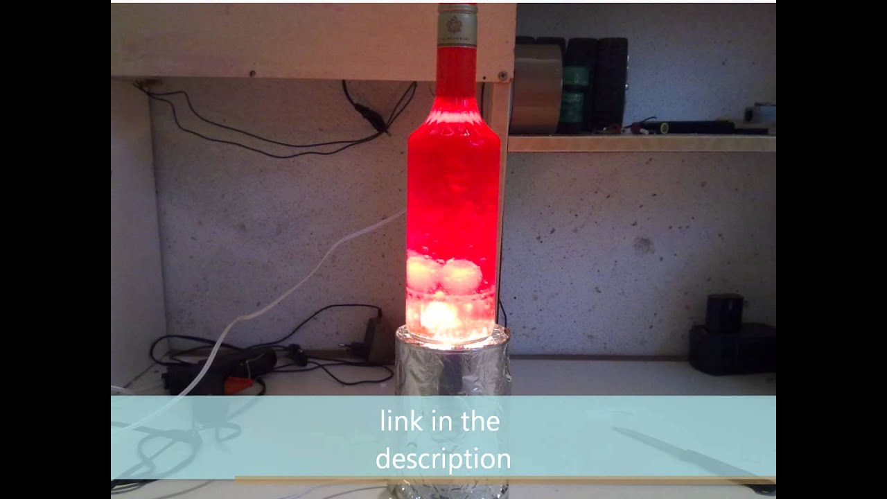 Diy Lava Lamp Without Alka Seltzer Youtube