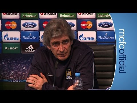 PELLEGRINI ON BARCELONA | Champions City v Barca Manuel Pellegrini press conference