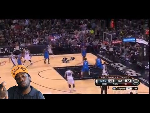 Oklahoma City Thunder vs San Antonio Spurs game 1 Nba playoffs 2014 western Finals Reaction