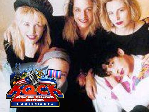 The Go Go's Rare Exclusive Interview KQCK RADIO STATIONS USA & COSTA RICA