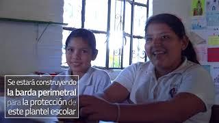 CONSTRUCCION DE BARDA PERIMETRAL EN ESCUELA DE SANTA CRUZ DE QUELITAN