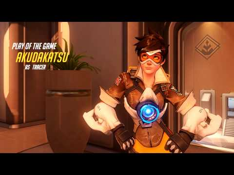 Overwatch - Tracer Play of the Game - Oasis