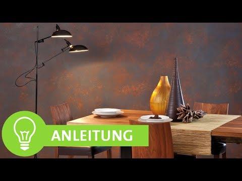 kreative wandgestaltung mit den adler color emotion metalleffekten youtube. Black Bedroom Furniture Sets. Home Design Ideas