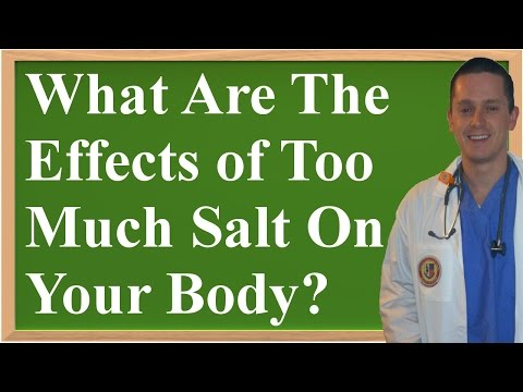 What Are The Negative Effects of Too Much Salt (Sodium) On Your Body?