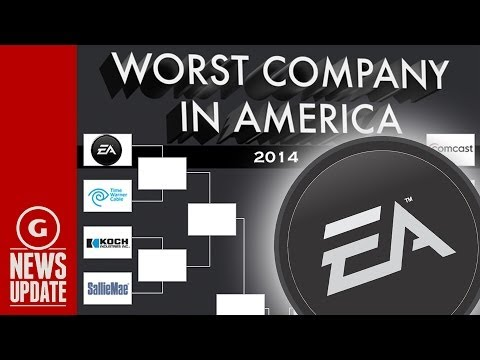"EA in the running for ""Worst Company in America"" AGAIN! - GS News"