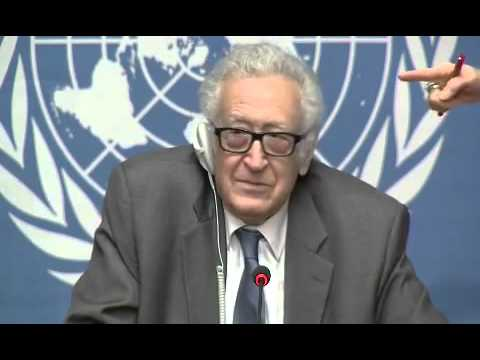 Syria \   Lakhdar Brahimi,Press Conference (Geneva, 26 January 2014)
