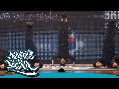 BOTY 2012 - SHOWCASE - MORNING OF OWL (KOREA) [OFFICIAL HD VERSION BOTY.TV]