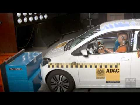 ADAC - VW e-up ! Crashtest