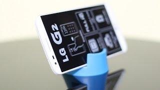 LG G2 Prezentacja Unboxing Rozpakowanie PL [1/2