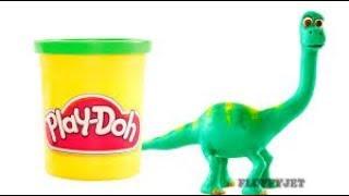 The Good Dinosaur Play Doh Stop Motion