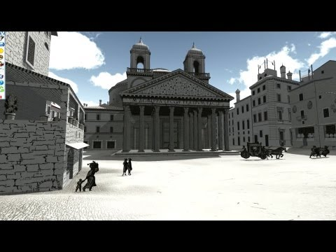Virtual Rome at the Carlos Museum