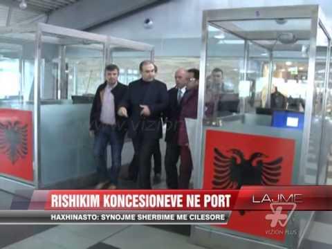 Rishikim koncesioneve në port - News, Lajme - Vizion Plus