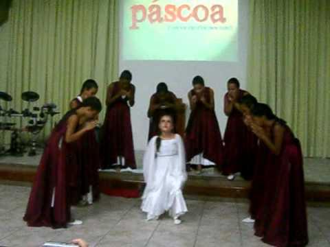 Coreografia de Páscoa - Igreja Evangélica Congregacional do Soteco