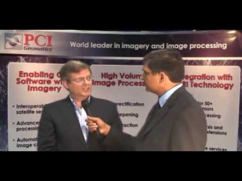 PCI's CTO, David Stanley, interviewed by GIS Cafe at ESRI UC