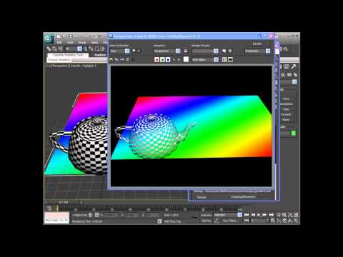 3DS Max 2011 - Materials