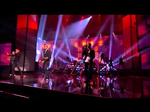 The Wanted - I Found You American Music Awards 2012 HD (1080p)