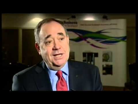 AYE WE CAN  Say's Salmond We Can Keep the Pound - Scottish independence
