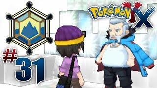 Let's Play Pokemon: X Part 31 Snowbelle Gym Leader