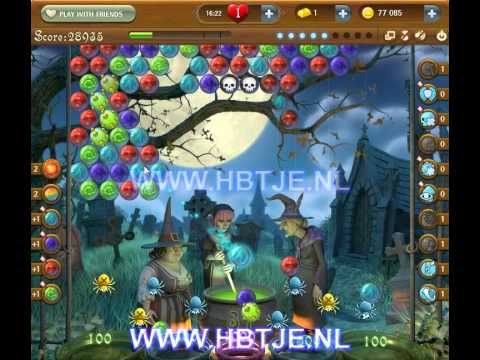 Bubble Witch Saga level 180