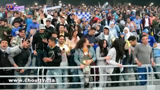 لقطة طريفة خلال احتفال جماهير اتحاد طنجة بالفوز بالبطولة: شوفو شنو دار شيباني كيموت على الفريق الطنجاوي   |   خارج البلاطو