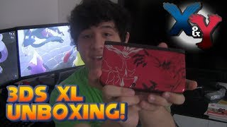 Pokémon X And Y Limited Edition 3DS XL Unboxing