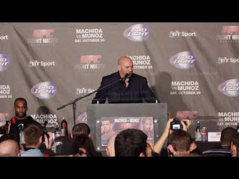 UFC Fight Night 30 (Manchester) Post Fight Press Conference