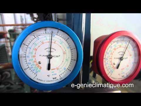 Froid24-La régulation pressostatique-réglage du pressostat BP régulation