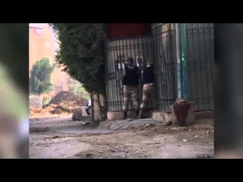 Raw: Egypt Troops Storm Islamist Stronghold