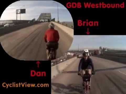 Gerald Desmond Bridge - Westbound Traverse