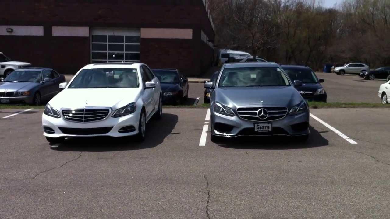 2014 Mercedes Benz E350 Sport And Luxury Model Comparison