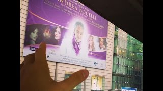 Andrea Bocelli Live in Bangkok - Time to say goodbye (feat.Jackie Evancho)