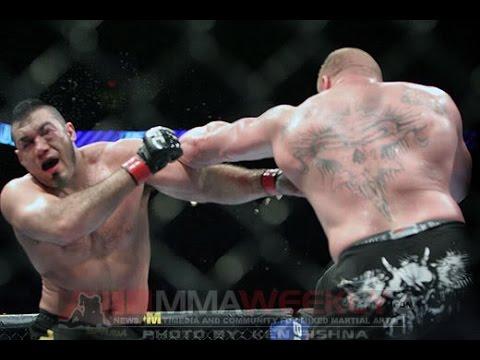 Brock Lesnar vs  Heath Herring FULL FIGHT - UFC 87