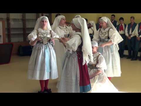 Petrovice u Karviné - Tradiční slezská svatba www.TelevizeKarvinsko.cz