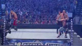 Big Show Vs John Cena Vs Edge Wrestlemania 25 Highlights