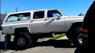 1974 CHEVY SUBURBAN MONSTER 4X4 ON 44'S FOR SALE