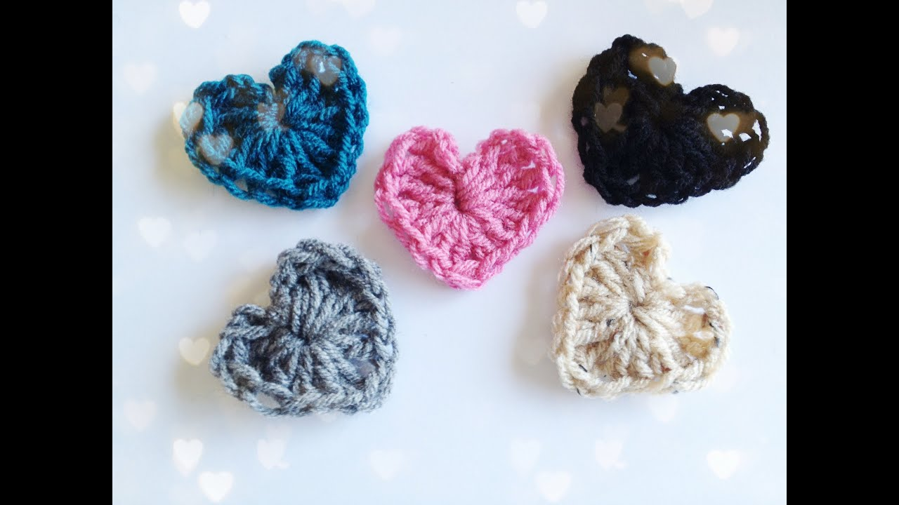 Crochet A Heart : How to: Crochet a Heart - YouTube