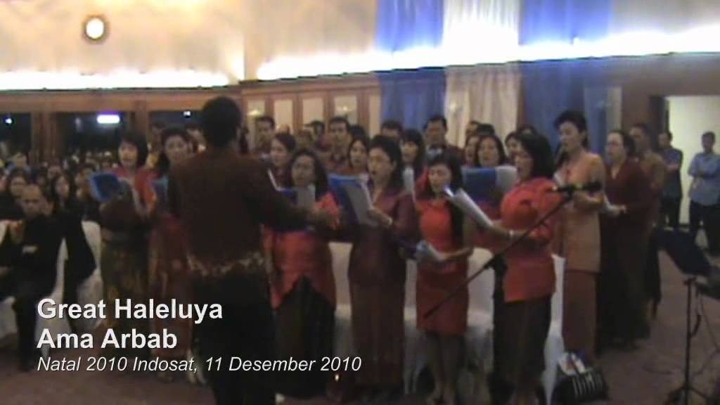 download partitur koor natal batak