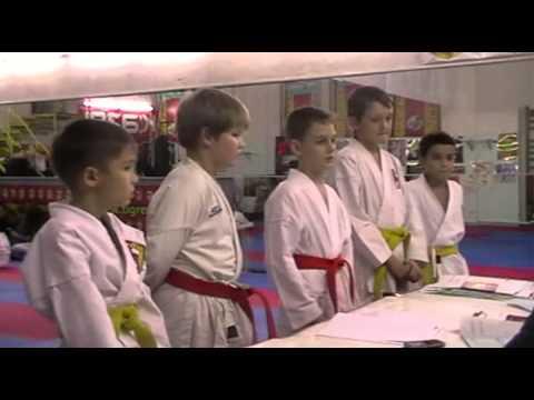 Экзамен по каратэ 24 ноября 2013 года в клубе Тигренок.ч.5
