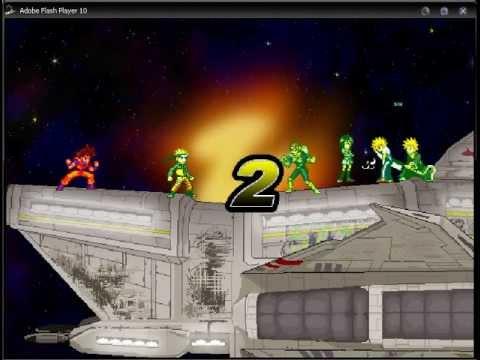 Super smash flash 2 v0 8b goku vs ichigo naruto captain falcon lvl