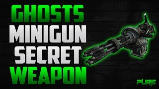 Call Of Duty Ghosts: How To Get The Minigun In Multiplayer