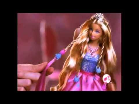 Búp bê Barbie - Công chúa tóc nối