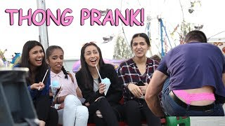 MAN WEARING THONG PRANK!!